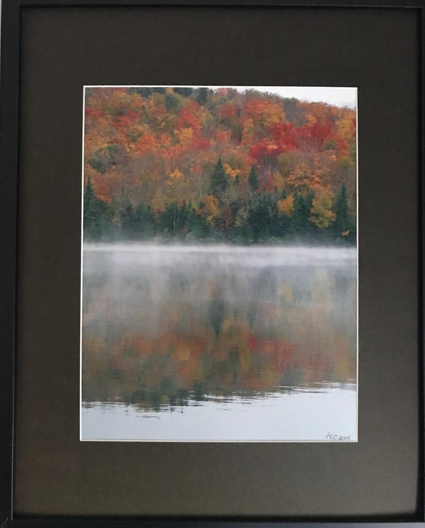 Lisa Cadigan - Fog on Heart Lake