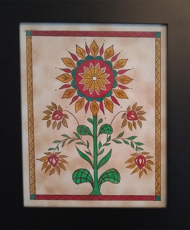 Christine Eckman - Fraktur Flower