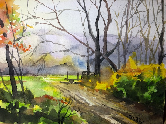 Steve Bleinberger - Country Lane